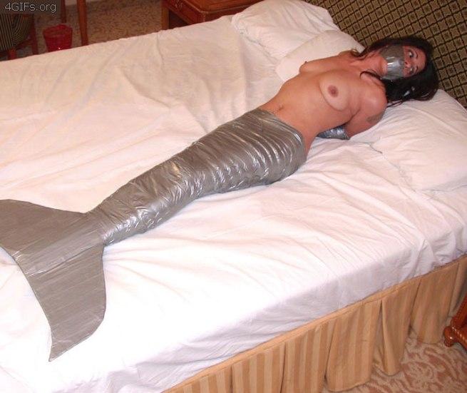 Duct-tape-mermaid